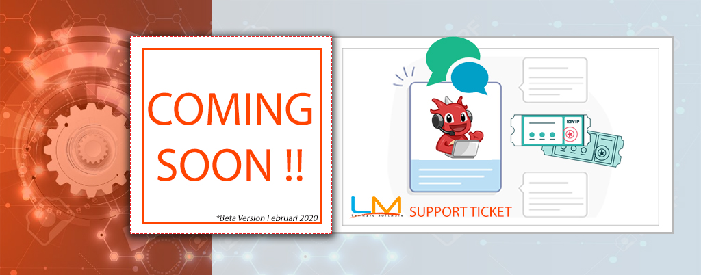 BETA VERSION SUPPORT TICKET SYSTEM BY LENMARC